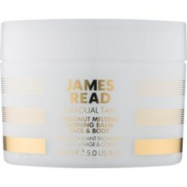 James Read Gradual Tan creme autobronzeador para corpo e rosto com óleo de coco  150 ml