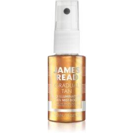 James Read Gradual Tan H2O Illuminating Spray pentru protectie pentru corp  30 ml