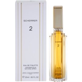 Jean-Louis Scherrer  Scherrer 2 eau de toilette nőknek 25 ml