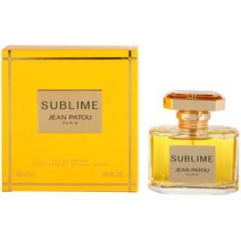 Jean Patou Sublime eau de parfum nőknek 50 ml