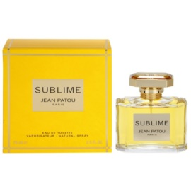 Jean Patou Sublime eau de toilette per donna 75 ml