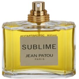 Jean Patou Sublime eau de parfum teszter nőknek 75 ml