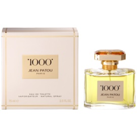 Jean Patou 1000 Eau de Toilette for Women 75 ml
