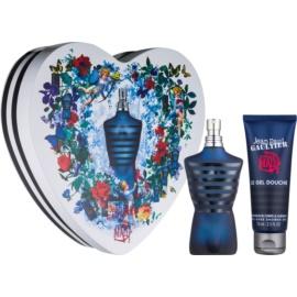 Jean Paul Gaultier Ultra Male Intense подарунковий набір І  Туалетна вода 75 ml + Гель для душу 75 ml