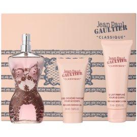 Jean Paul Gaultier Classique Geschenkset VIII. Eau de Parfum 100 ml + Körperlotion 75 ml + Duschgel 50 ml
