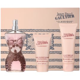 Jean Paul Gaultier Classique dárková sada VIII. parfémovaná voda 100 ml + tělové mléko 75 ml + sprchový gel 50 ml