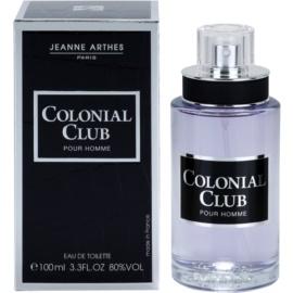 Jeanne Arthes Colonial Club Eau de Toilette para homens 100 ml