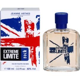 Jeanne Arthes Extreme Limite Rock Eau de Toilette für Herren 100 ml