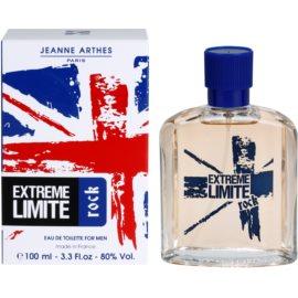 Jeanne Arthes Extreme Limite Rock Eau de Toilette para homens 100 ml