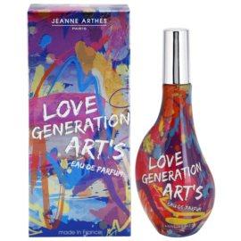 Jeanne Arthes Love Generation Art's eau de parfum para mujer 60 ml