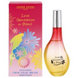 Jeanne Arthes Love Generation do Brasil eau de parfum para mujer 60 ml