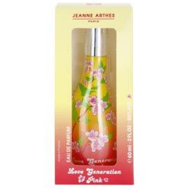 Jeanne Arthes Love Generation Pink eau de parfum para mujer 60 ml