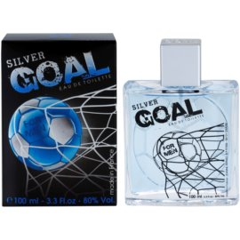 Jeanne Arthes Silver Goal Eau de Toilette para homens 100 ml