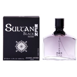 Jeanne Arthes Sultane Black Men Eau de Toilette for Men 100 ml