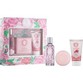 Jeanne en Provence Rose Geschenkset I.  Eau de Parfum 60 ml + Seife 100 g + Handcreme 75 ml