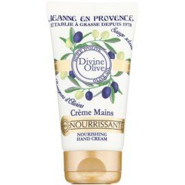 Jeanne en Provence Divine Olive Hand Cream with Nourishing Effect  75 ml