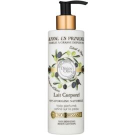Jeanne en Provence Divine Olive nährende Körpermilch mit  Olivenöl  250 ml