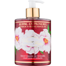 Jeanne en Provence Pivoine Féerie sabão liquido para mãos peónia   500 ml