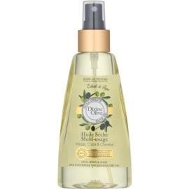 Jeanne en Provence Divine Olive suchy olejek do twarzy, ciała i włosów  150 ml