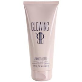 Jennifer Lopez Glowing tělové mléko pro ženy 200 ml