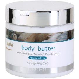 Jericho Body Care tělové máslo Vanilla 200 ml