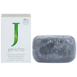 Jericho Body Care mydlo s čiernym bahnom  125 g