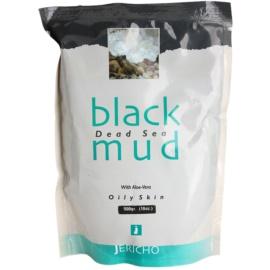 Jericho Body Care černé bahno pro mastnou pokožku  500 g