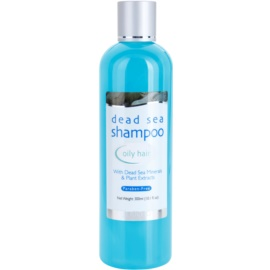 Jericho Hair Care sampon zsíros hajra Whit Dead Sea Minerals & Plant Extracts 300 ml