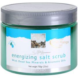 Jericho Body Care SPA povzbuzující solný peeling  700 g
