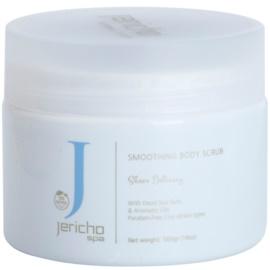 Jericho Body Care SPA povzbuzující solný peeling s mořskými extrakty a esenciálními oleji šeřík  500 g