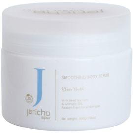 Jericho Body Care SPA povzbuzující solný peeling s mořskými extrakty a esenciálními oleji květy pomerančovníku  500 g