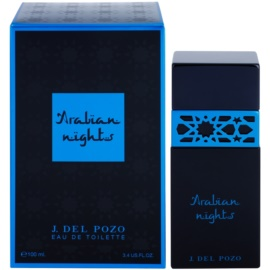 Jesus Del Pozo Arabian Nights eau de toilette férfiaknak 100 ml