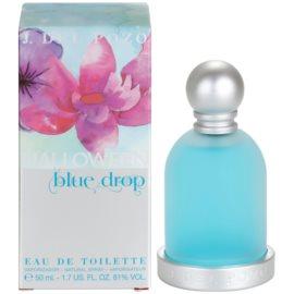 Jesus Del Pozo Halloween Blue Drop woda toaletowa dla kobiet 50 ml