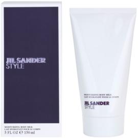 Jil Sander Style tělové mléko pro ženy 150 ml