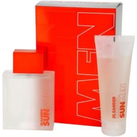 Jil Sander Sun for Men dárková sada I. toaletní voda 75 ml + sprchový gel 75 ml