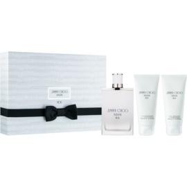 Jimmy Choo Ice Gift Set I.  Eau De Toilette 100 ml + Aftershave Balm 100 ml + Shower Gel 100 ml