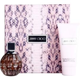 Jimmy Choo For Women zestaw upominkowy IV. woda perfumowana 60 ml + mleczko do ciała 100 ml