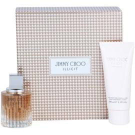 Jimmy Choo Illicit Gift Set  II. Eau de Parfum 60 ml + Body Lotion  100 ml