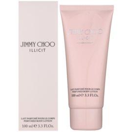 Jimmy Choo Illicit telové mlieko pre ženy 100 ml