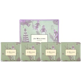 Jo Malone Marthe Armitage Soap Collection zestaw upominkowy I. Lime Basil & Mandarin + Pomegranate Noir + English Pear & Freesia + Blackberry & Bay mydło 4 x 50 g