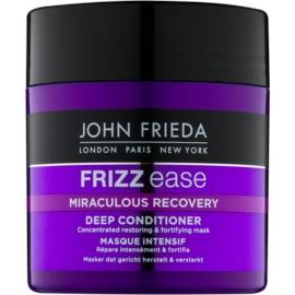 John Frieda Frizz Ease Miraculous Recovery obnovující a posilující maska na vlasy  150 ml