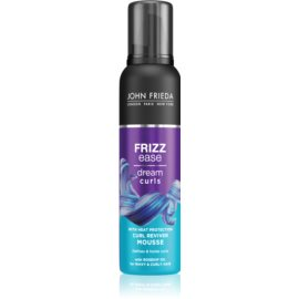 John Frieda Frizz Ease Dream Curls Mousse For Volume From Roots  200 ml