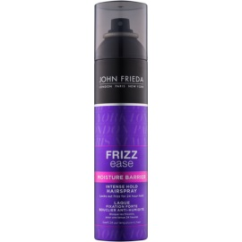 John Frieda Frizz Ease Moisture Barrier lakier silnie utrwalający do włosów kręconych i po  trwałej ondulacji  250 ml