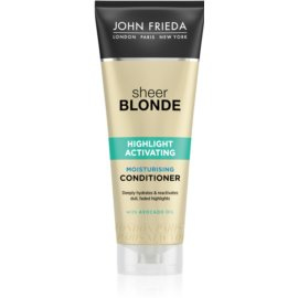 John Frieda Sheer Blonde Highlight Activating hidratáló kondicionáló szőke hajra  250 ml