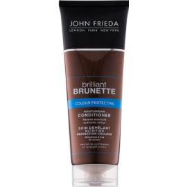 John Frieda Brilliant Brunette Colour Protecting feuchtigkeitsspendender Conditioner  250 ml