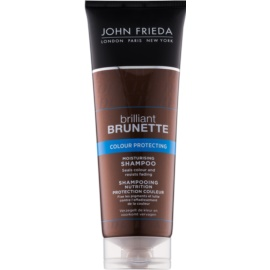 John Frieda Brilliant Brunette Colour Protecting hydratisierendes Shampoo  250 ml