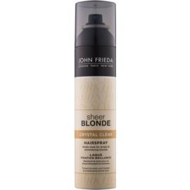 John Frieda Sheer Blonde Crystal Clear Lack für blondes und meliertes Haar  250 ml