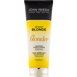 John Frieda Sheer Blonde Go Blonder Aufhellender Conditioner für blonde Haare  250 ml