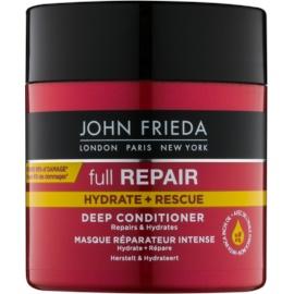 John Frieda Full Repair Hydrate+Rescue regenerierender Conditioner mit Tiefenwirkung mit feuchtigkeitsspendender Wirkung  150 ml