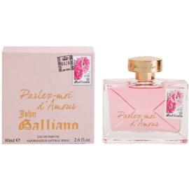 John Galliano Parlez-Moi d'Amour Parfumovaná voda pre ženy 80 ml